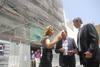 Visita a las obras del nuevo Museo de Arte Contemporáneo de Alicante