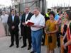 Inauguración del Parque de las Tres Culturas (Tobarra)