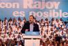 Rajoy ofrece un mitin en el Príncipe de Asturias