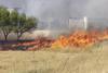 Incendio en el paraje de La Hormiga (Yecla)
