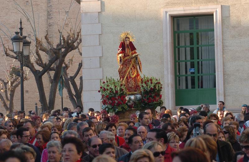 Romería a Santa Eulalia de Mérida en Totana