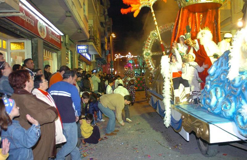 Cabalgata de Reyes Magos en Lorca
