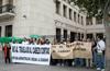 Nueva protesta de los empleados de Extranjería