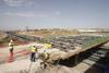 Nuevo puente sobre la A-7 de Murcia