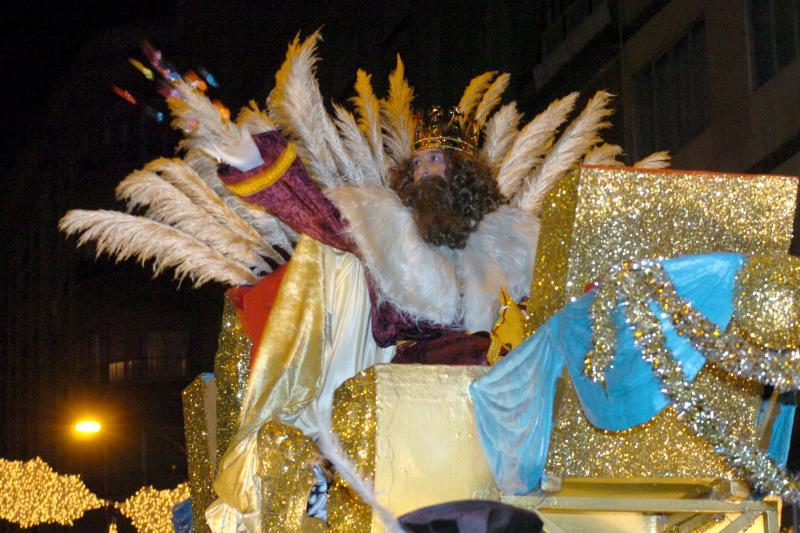 Cabalgata de Reyes Magos en Murcia