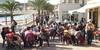 Turistas durante el puente de la Constitución en Cabo de Palos
