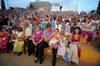 Los senadores de Roma llevan a cabo la sesión plenaria de las fiestas