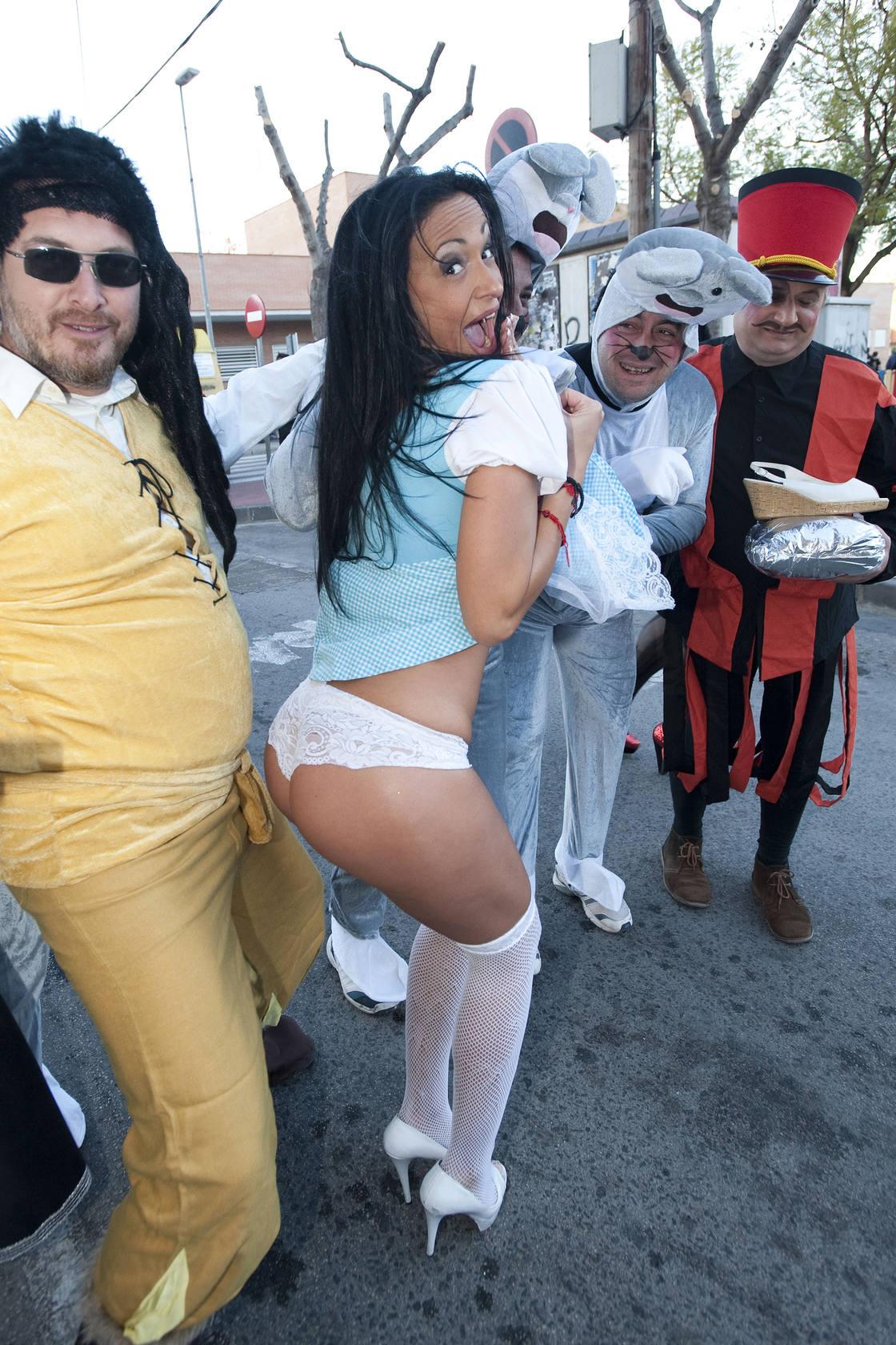 Lunes de Carnaval en el Cabezo de Torres