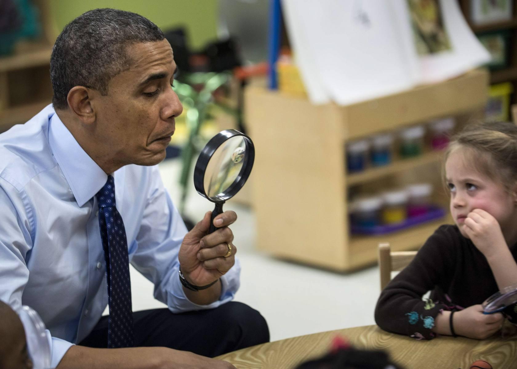 Obama, un alumno más en Georgia