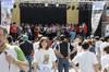 XI encuentro nacional de gigantes y cabezudos en Abarán