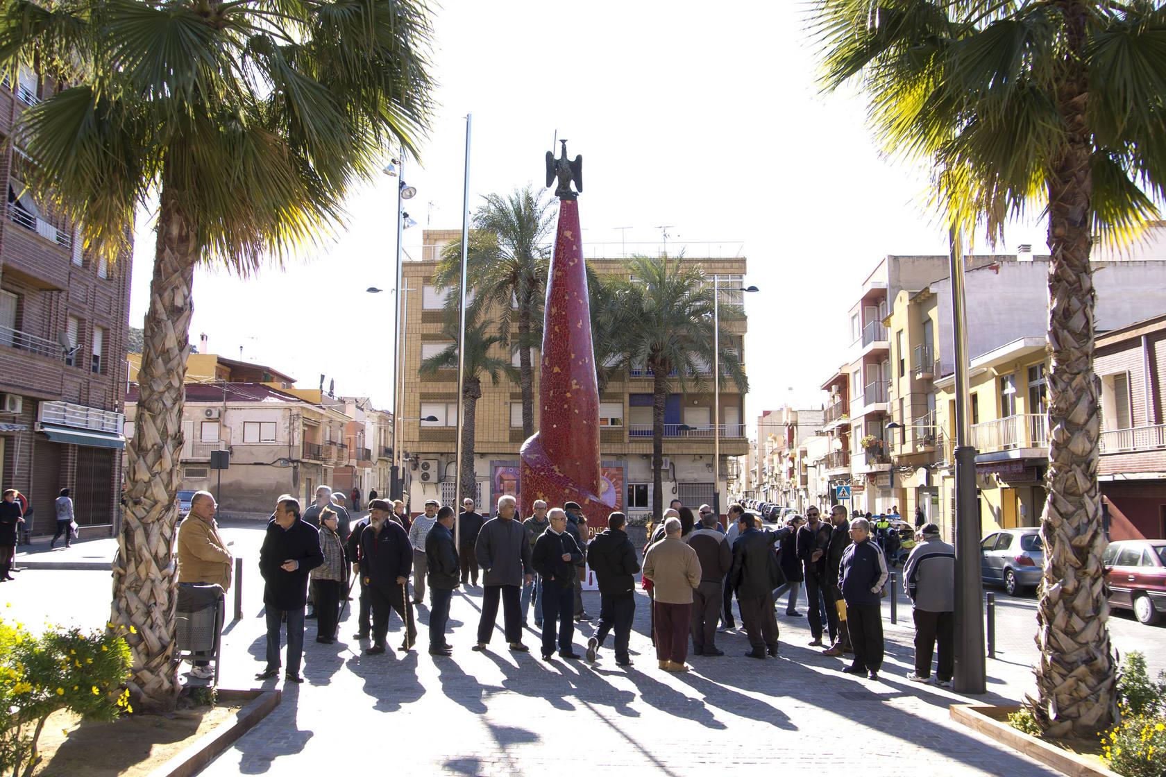 Manifestación para pedir el centro de salud del Rabaloche