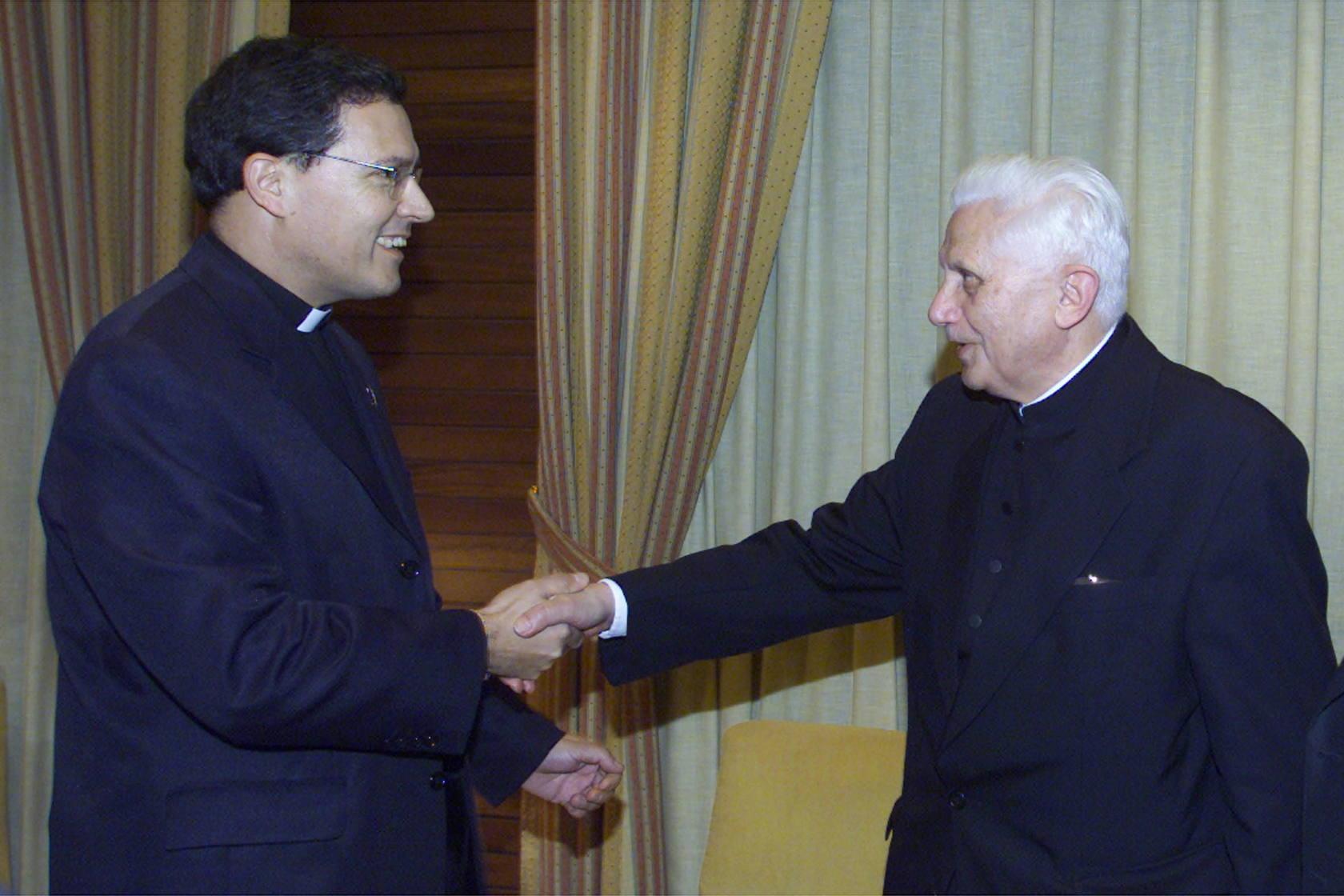 Visitas de Joseph Ratzinger a la Región