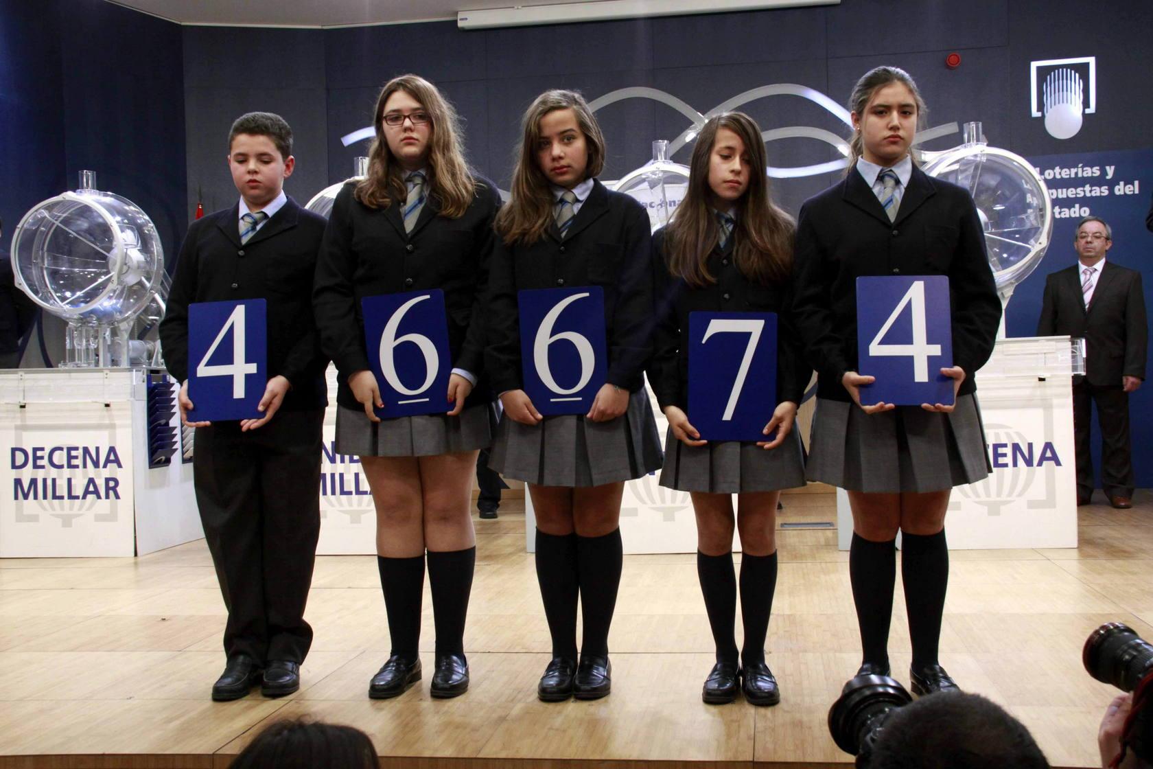 El 30.875, primer premio de 'El Niño'