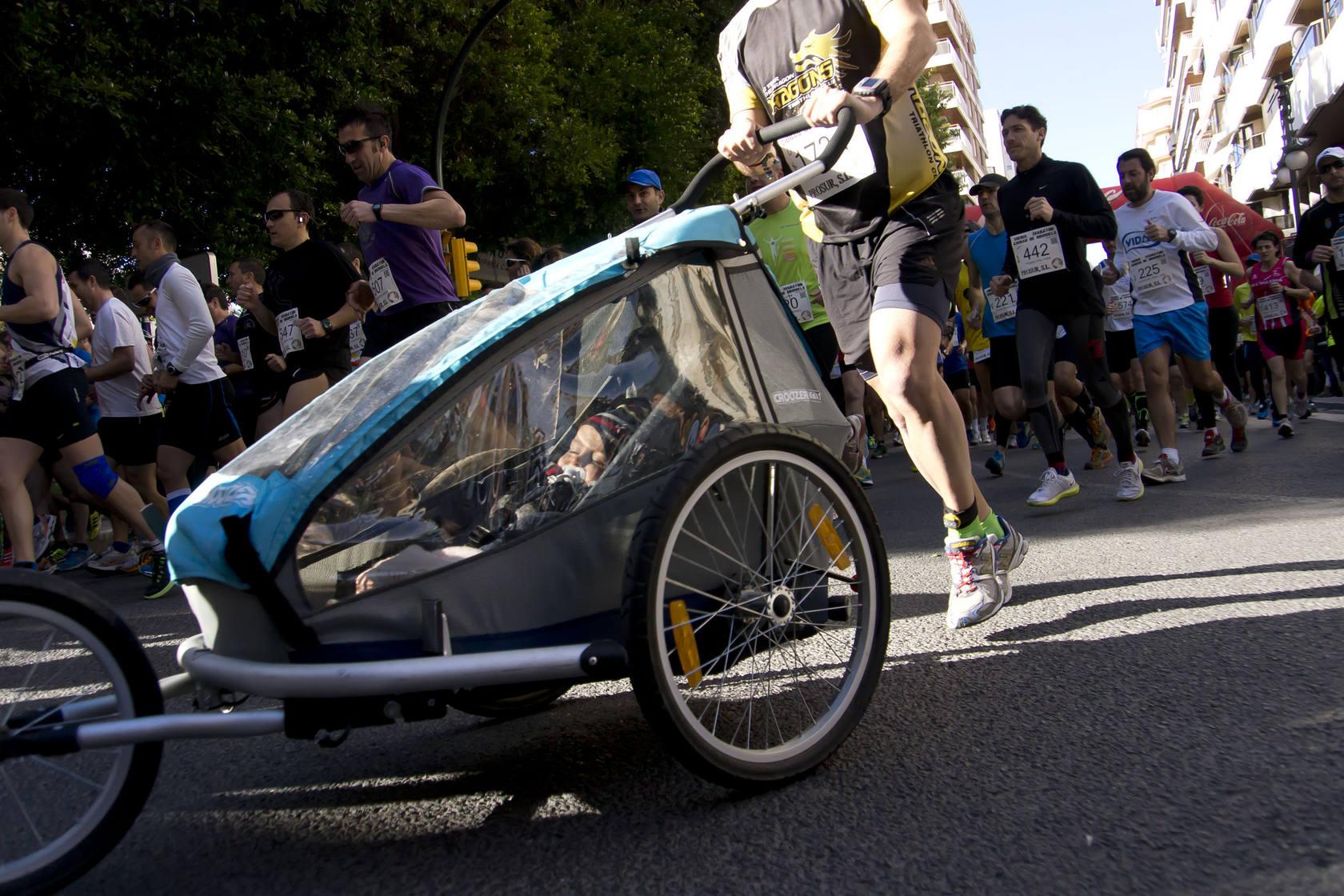 Imágenes de la Media Maratón celebrada en Orihuela