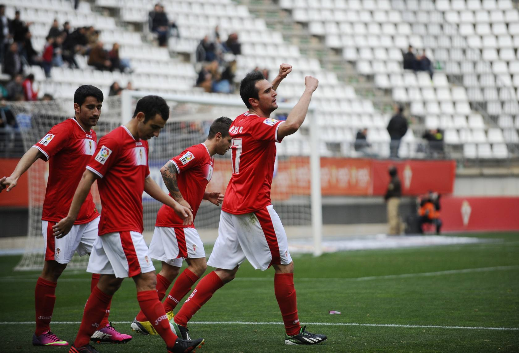 Real Murcia - Xerez (3-1)