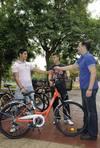 Murcia inaugura su sistema público de alquiler de bicicletas