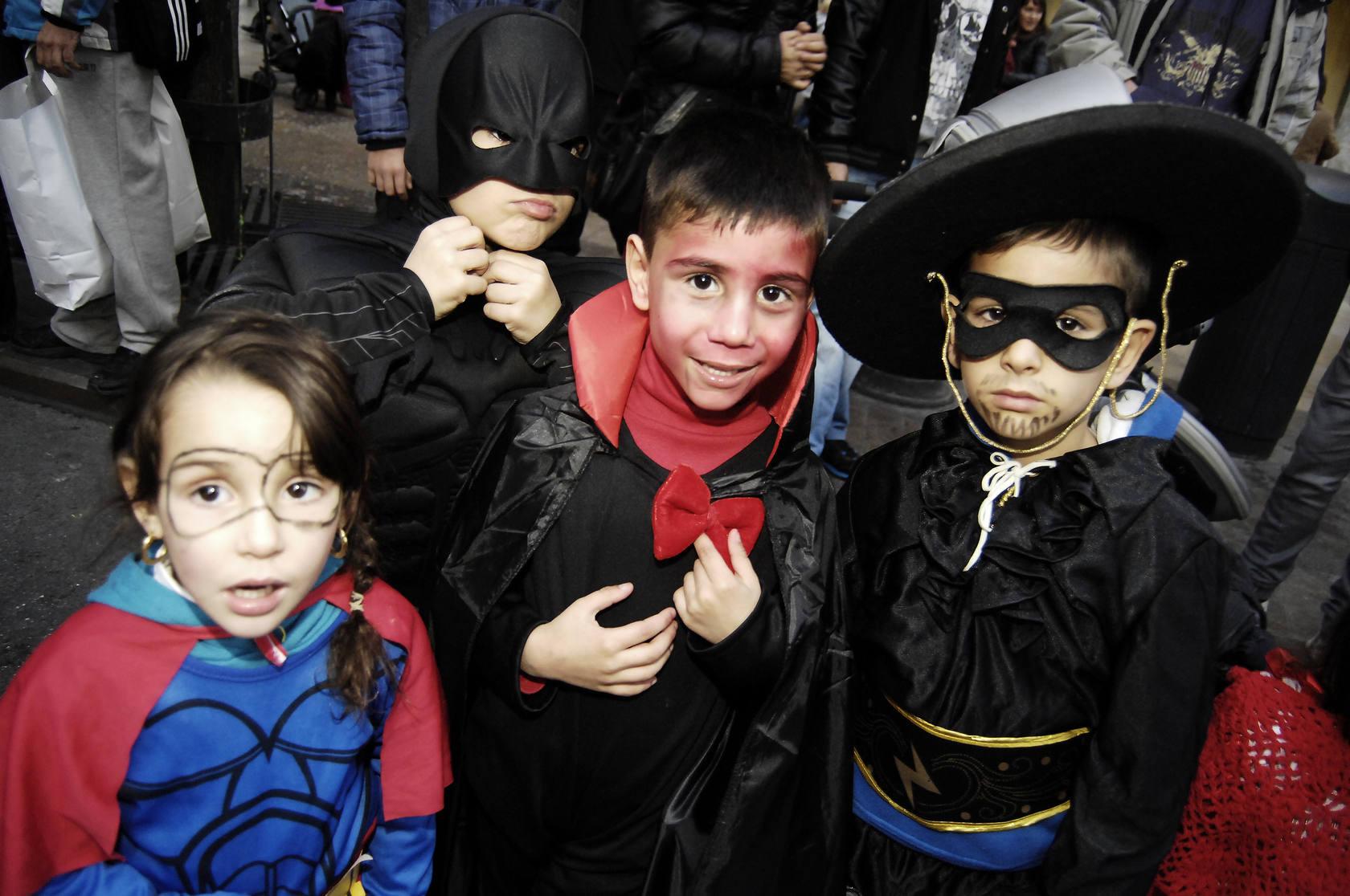 Los más pequeños celebran el Carnaval en Alicante