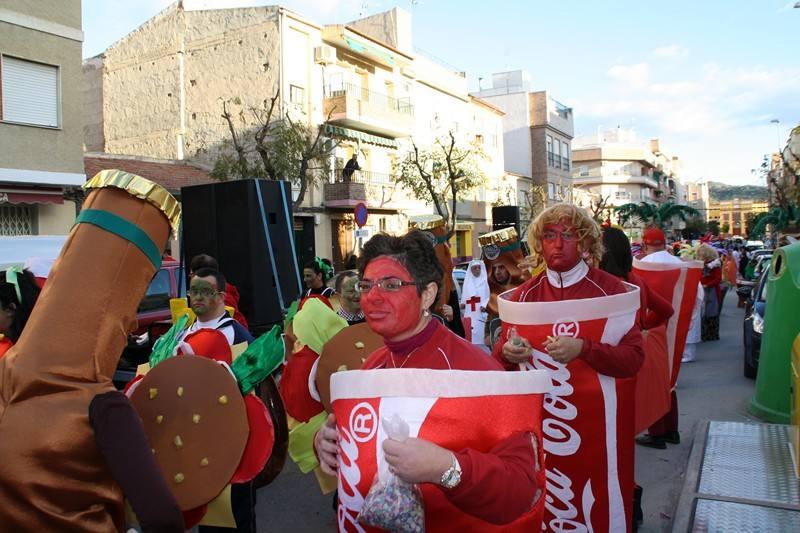 Desfile de Carnaval en Cieza
