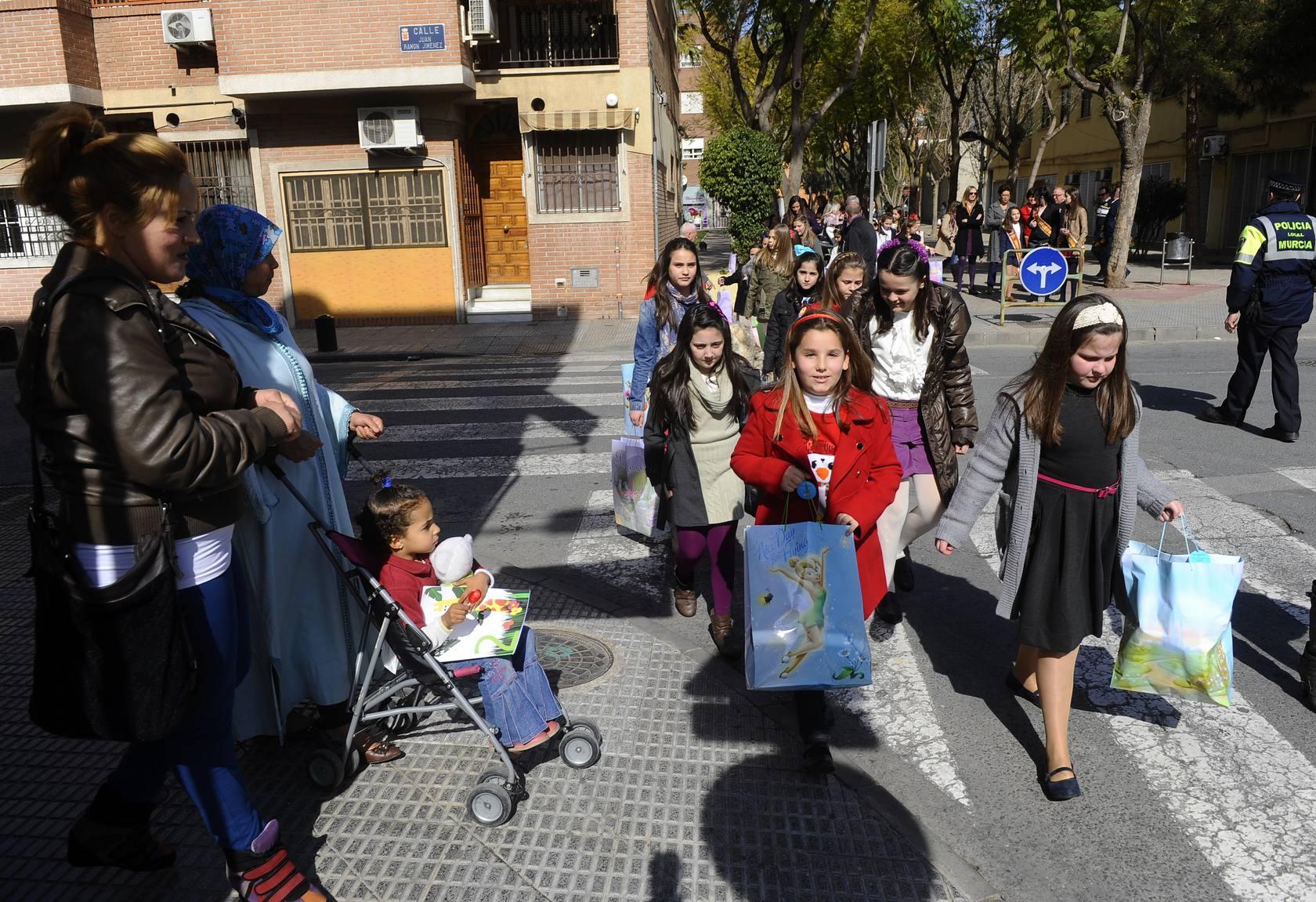 Jornada de convivencia de las candidatas a Reina Infantil de la Huerta 2013