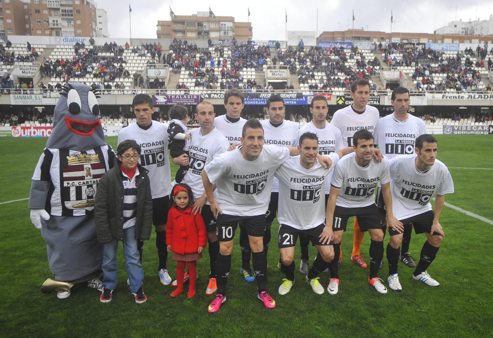 FC Cartagena - Sevilla Atlético (2-3)