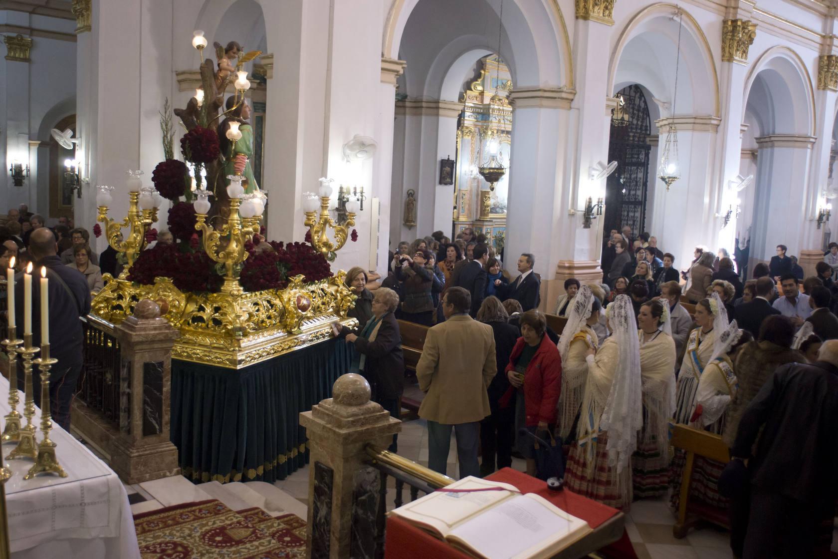 Procesión de Santa Águeda en Orihuela