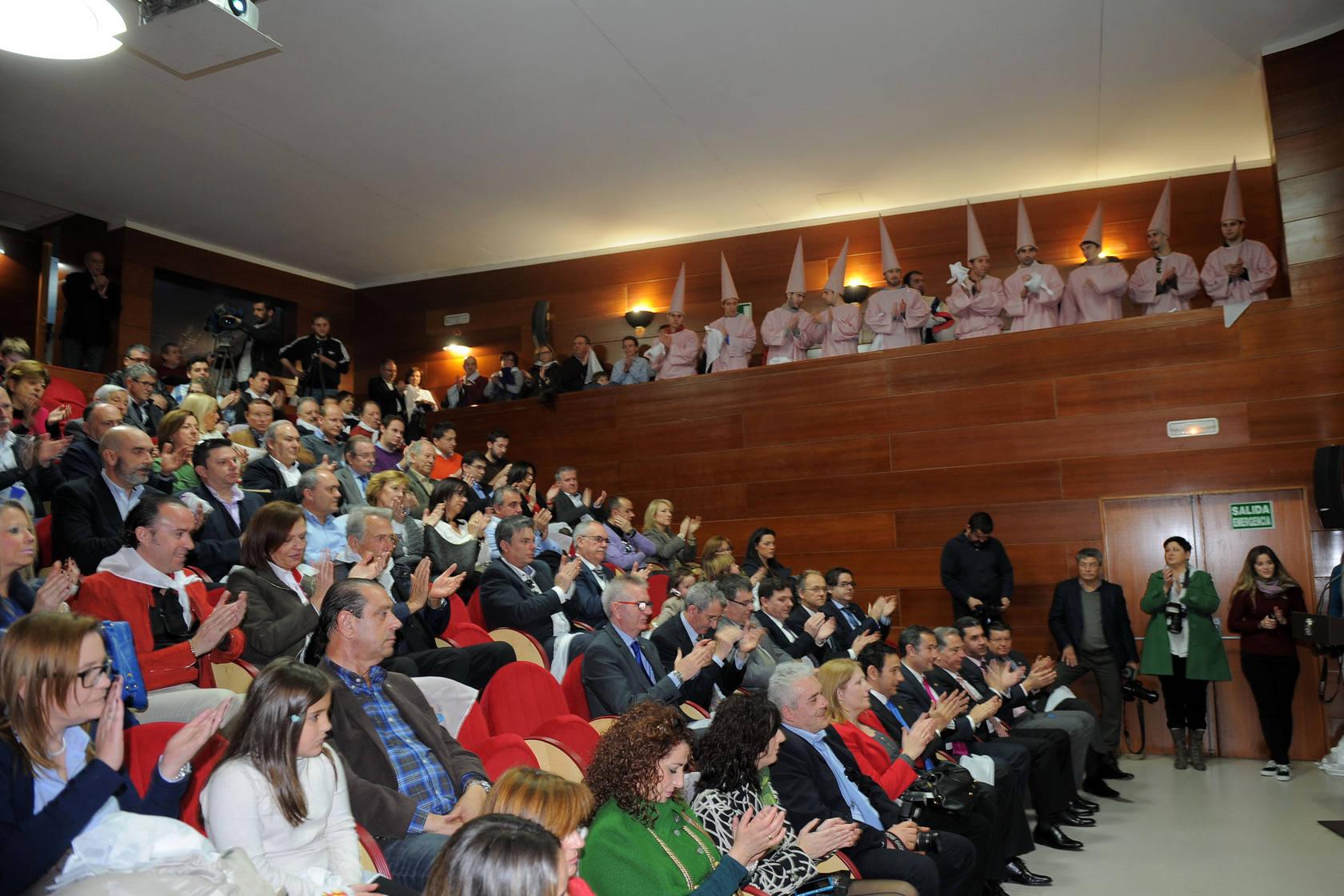 Presentación del cartel del Entierro de la Sardina 2013