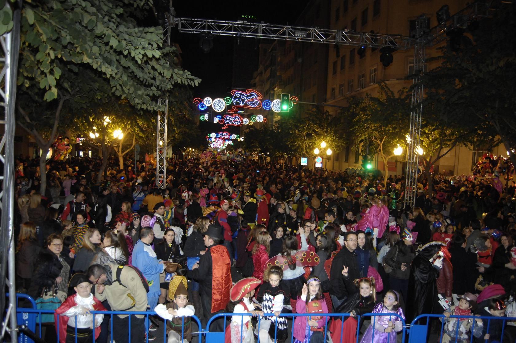 Celebración del 'Sábado Ramblero' de Carnaval en Alicante