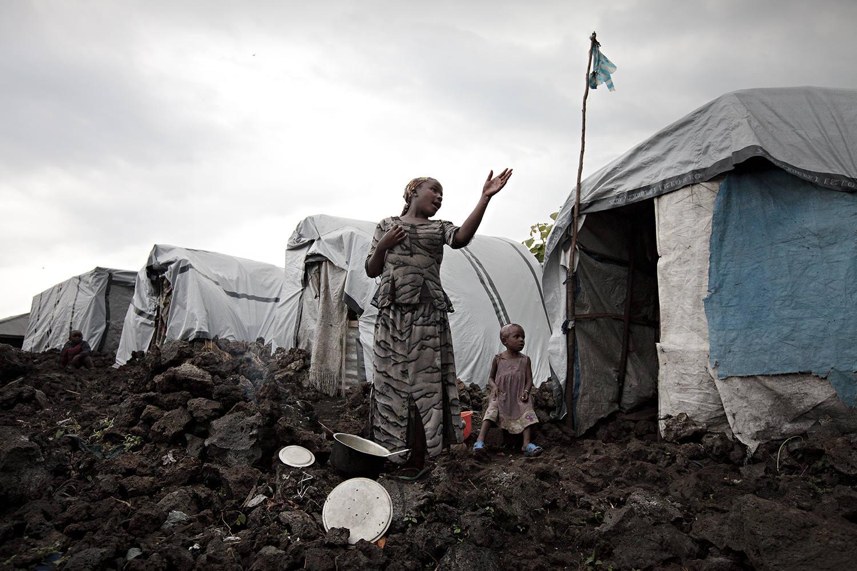 Efectos del conflicto en la República Democrática del Congo